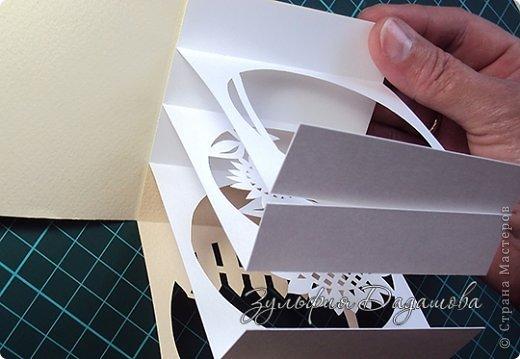 Мастер-класс, Поделка, изделие Бумажный туннель, Вырезание: Кубы-туннели Бумага. Фото 10