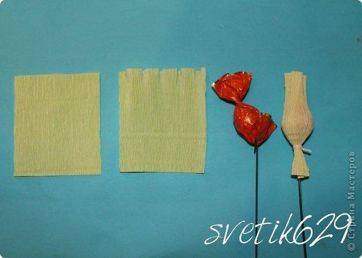 Свит-дизайн Бумагопластика: МК Подснежники Бумага гофрированная, Бусинки. Фото 2