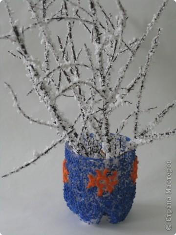 Зимний букет своими руками для школы