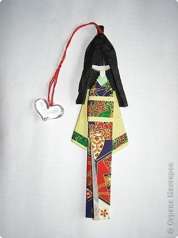 Девушка в китайском костюме. Здесь использована обложка от старого журнала.. Фото 2