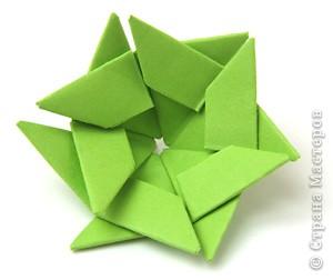 модульное оригами страна мастеров схема сборки поделки.