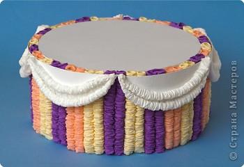 Как сделать искусственный торт