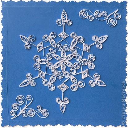 Квиллинг-снежинки (мастер-класс)