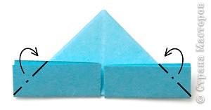 оригами легко. модульное оригами мастер класс первый ряд.