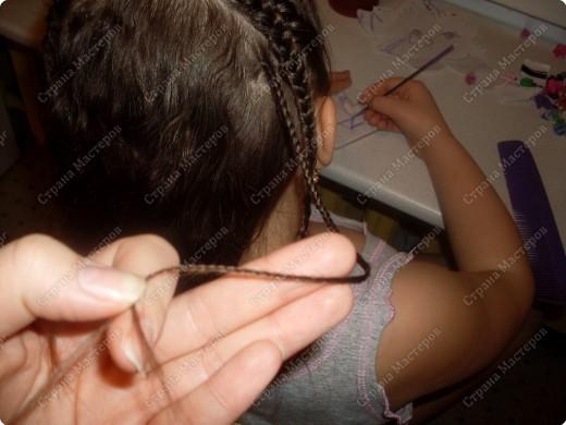 """Мастер-класс, Прическа Плетение: МК Прически для любимой дочурки """"Лабиринт"""" (опять дочка название придумала). Фото 9"""