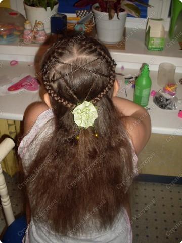 """Мастер-класс, Прическа Плетение: МК Прически для любимой дочурки """"Лабиринт"""" (опять дочка название придумала). Фото 1"""