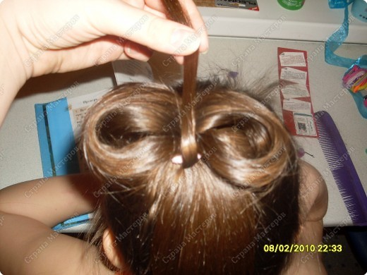 Мастер класс бантики из волос