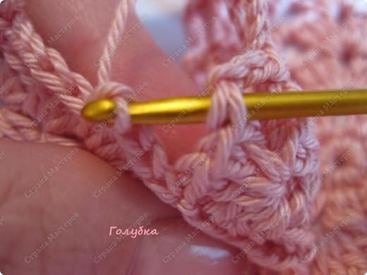 Гардероб, Мастер-класс Вязание крючком: Вяжем вместе : Ажурная шапочка-берет крючком Пряжа. Фото 9