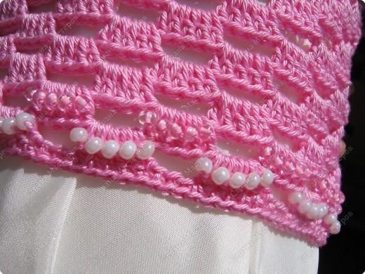 Мастер-класс Вязание крючком: Вяжем вместе : Розовая шапочка. Пряжа. Фото 11
