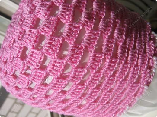 Мастер-класс Вязание крючком: Вяжем вместе : Розовая шапочка. Пряжа. Фото 12