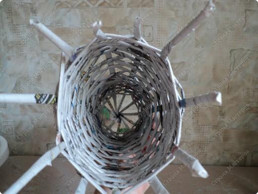 Мастер-класс Плетение: Рыбка, сплетенная из газет+МК. Бумага газетная. Фото 9