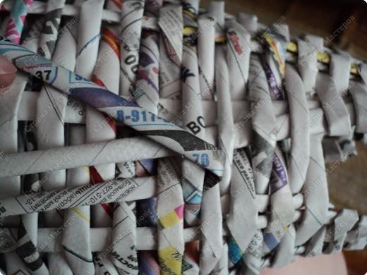 Мастер-класс Плетение: Рыбка, сплетенная из газет+МК.(продолжение) Бумага газетная. Фото 6