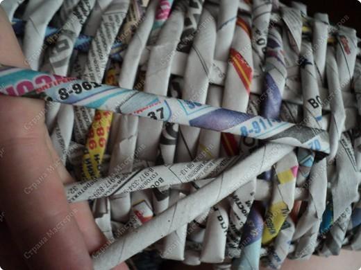 Мастер-класс Плетение: Рыбка, сплетенная из газет+МК.(продолжение) Бумага газетная. Фото 7