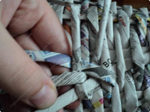 Мастер-класс Плетение: Рыбка, сплетенная из газет+МК.(продолжение) Бумага газетная. Фото 8