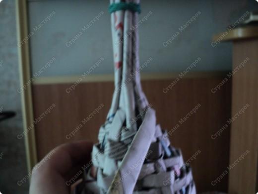 Мастер-класс Плетение: Рыбка, сплетенная из газет+МК.(продолжение) Бумага газетная. Фото 13