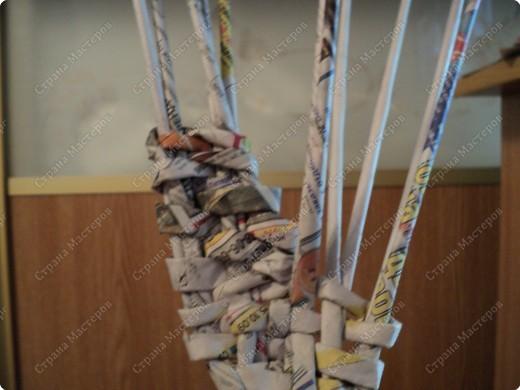 Мастер-класс Плетение: Рыбка, сплетенная из газет+МК.(продолжение) Бумага газетная. Фото 17