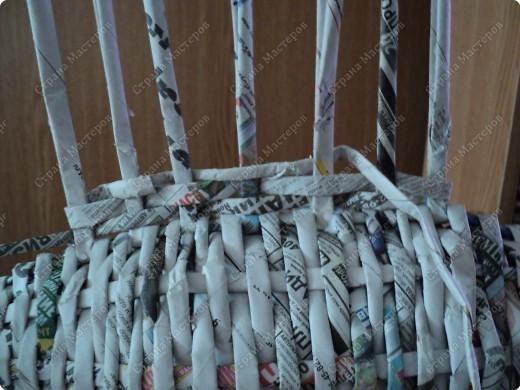 Мастер-класс Плетение: Рыбка, сплетенная из газет+МК.(продолжение) Бумага газетная. Фото 21