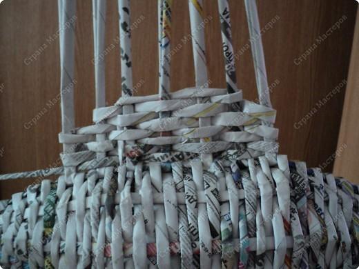 Мастер-класс Плетение: Рыбка, сплетенная из газет+МК.(продолжение) Бумага газетная. Фото 23
