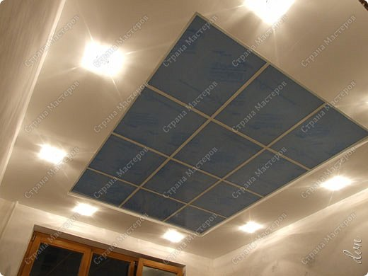 Интерьер, Мастер-класс, Проект : Подвесной потолок . Фото 20