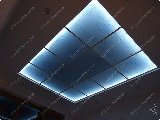 Потолки из оргстекла с подсветкой своими руками