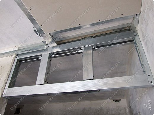 Интерьер, Мастер-класс, Проект : Подвесной потолок . Фото 11