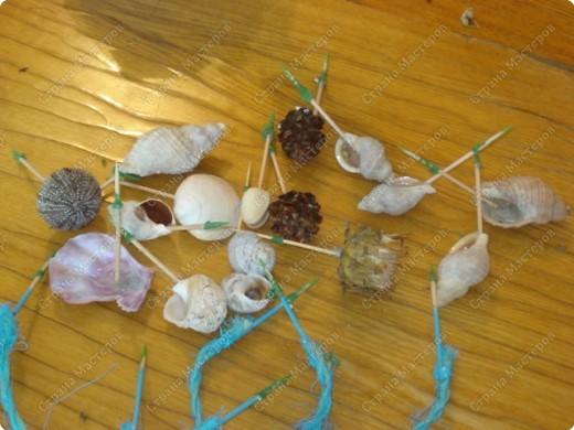 Мастер-класс: МК Морского дерева Ракушки Дебют. Фото 7