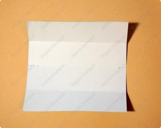 Мастер-класс Оригами: МК ваза оригами. Часть 1. Модуль Бумага. Фото 4