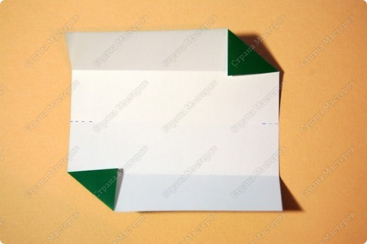 Мастер-класс Оригами: МК ваза оригами. Часть 1. Модуль Бумага. Фото 5