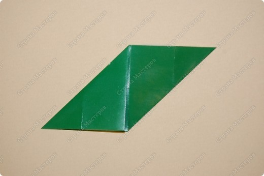 Мастер-класс Оригами: МК ваза оригами. Часть 1. Модуль Бумага. Фото 8