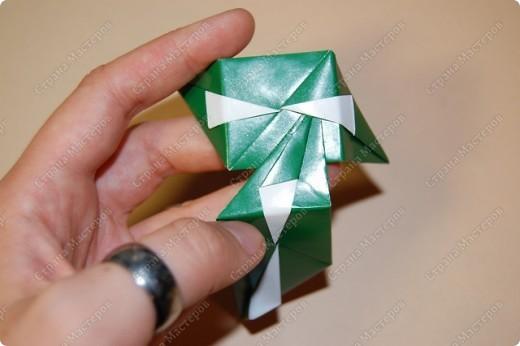 Мастер-класс Оригами: МК ваза оригами. Часть 2. Сборка Бумага. Фото 2