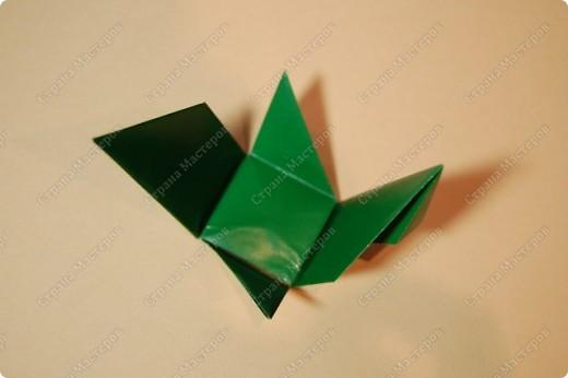 Мастер-класс Оригами: МК ваза оригами. Часть 2. Сборка Бумага. Фото 4