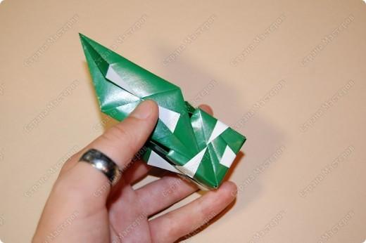 Мастер-класс Оригами: МК ваза оригами. Часть 2. Сборка Бумага. Фото 8