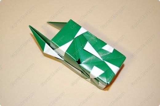 Мастер-класс Оригами: МК ваза оригами. Часть 2. Сборка Бумага. Фото 10