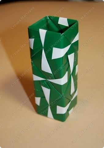 Мастер-класс Оригами: МК ваза оригами. Часть 2. Сборка Бумага. Фото 16