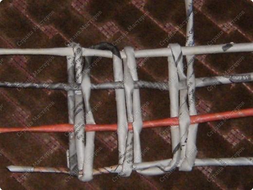 Мастер-класс Плетение: Гитара-кашпо из газет. МК. Бумага газетная. Фото 19