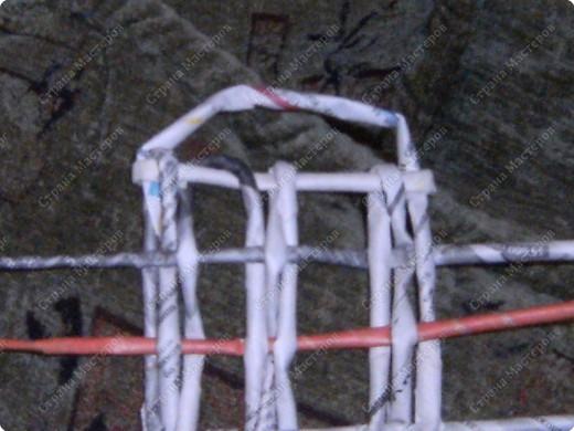 Мастер-класс Плетение: Гитара-кашпо из газет. МК. Бумага газетная. Фото 20