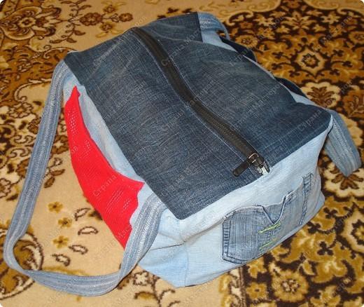 выкройки спортивных сумок