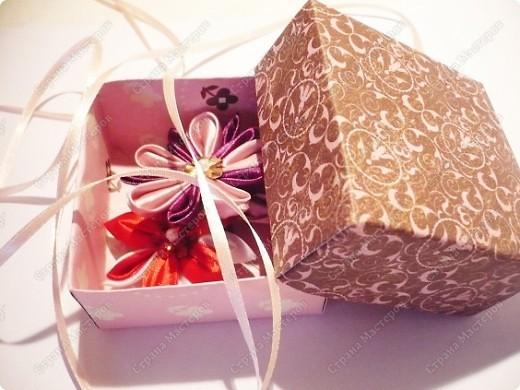 Мастер-класс, Упаковка,  Моделирование, : Коробочка для подарка МК. Бумага .<br /> <center>