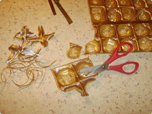Мастер-класс,  Вырезание, : И опять цветочки- МК  Коробки Новый год, . Фото 4