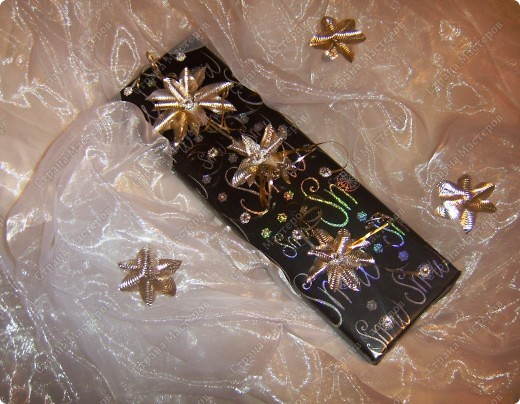 Мастер-класс,  Вырезание, : И опять цветочки- МК  Коробки Новый год, . Фото 16