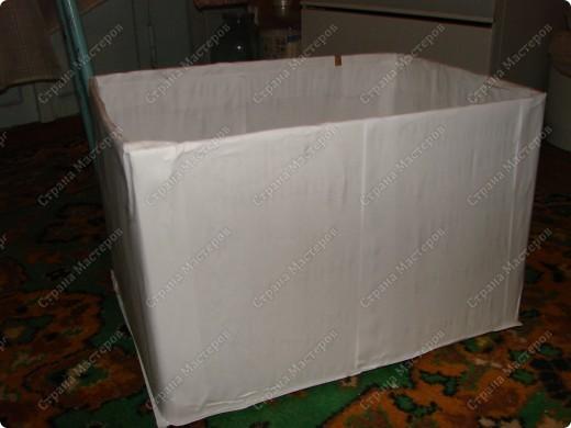 Мастер-класс,  : Сундучок для швейных принадлежностей Бумага газетная . Фото 3