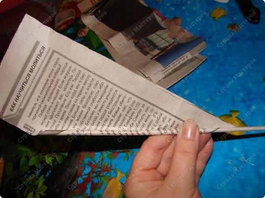 Мастер-класс,  : Сундучок для швейных принадлежностей Бумага газетная . Фото 5