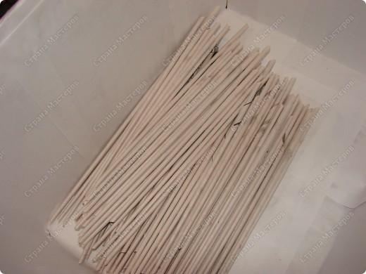 Мастер-класс,  : Сундучок для швейных принадлежностей Бумага газетная . Фото 6