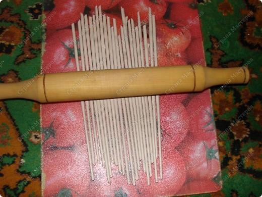 Мастер-класс,  : Сундучок для швейных принадлежностей Бумага газетная . Фото 7