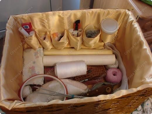 Мастер-класс,  : Сундучок для швейных принадлежностей Бумага газетная . Фото 15