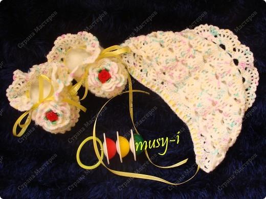 Вязание спицами, крючком для малышей