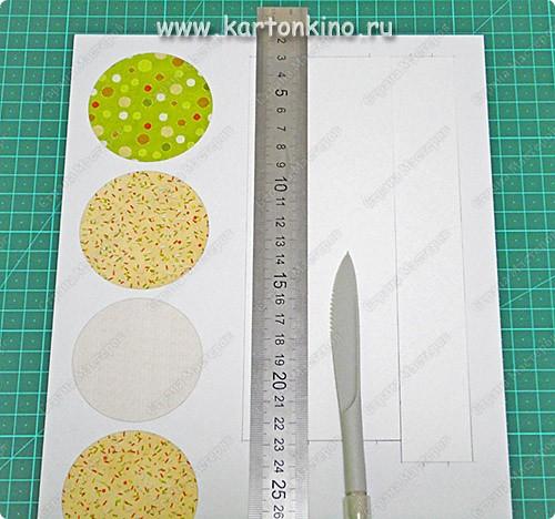 Мастер-класс, Поделка, изделие Бумагопластика: Маленькая круглая коробочка Бумага, Картон Новый год. Фото 5