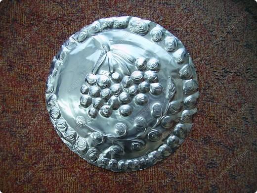 Поделка, изделие Чеканка: Чеканим на формах от кексов Фольга. Фото 1