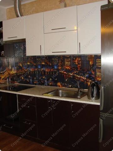 Интерьер Аппликация: Стеклянный фартук для кухни своими руками - это просто !!! Бумага. Фото 2