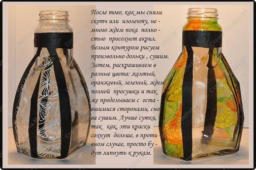 Мастер-класс Роспись: Цитрусовое наваждение Краска, Стекло. Фото 4